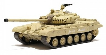 Tank Russian T-72 M1 Desert Yellow 1/72