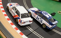 SCALEXTRIC C3693A - Touring Car Legends - Ford Sierra RS500 vs BMW E30