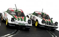 SCALEXTRIC C3894A - Lancia Stratos 1976 Rally Champions Twinpack