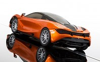SCALEXTRIC C3895 - McLaren 720S - Azores Orange