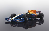 Autíčko Super Resistant SCALEXTRIC C3960 - 2017 Formula One Car - Blue