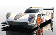 Autíčko GT SCALEXTRIC C4061 - Ginetta G60-LT-P1 No 14 - White & Orange