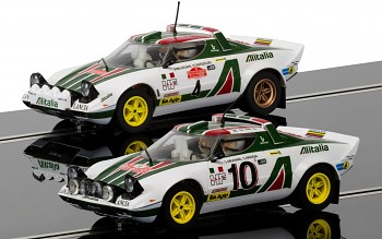 Lancia Stratos 1976 Rally Champions Twinpack
