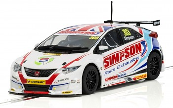 Honda Civic Type R NGTC – BTCC 2017 Matt Simpson