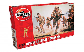 Classic Kit figurky A00709 - WWII British 8th Army (1:72)