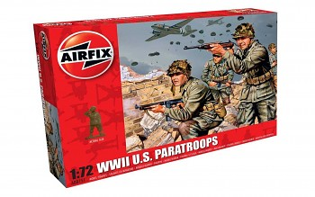 Classic Kit figurky A00751 - WWII US Paratroops (1:72)