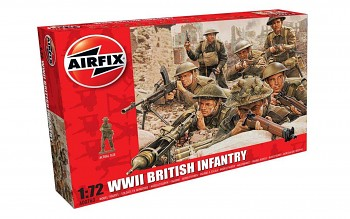 Classic Kit figurky A00763 - WWII British Infantry (1:72)