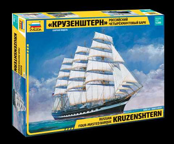 "Model Kit loď 9045 - ""Kruzenshtern"" Sailingship (1:200)"