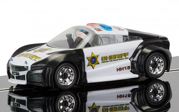 Team Cops 'n' Robbers Police Car - SCALEXTRIC QUICK BUILD Super Resistant SCALEXTRIC C3709