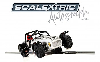 Caterham Superlight - David Robinson - Autíčko Limited Edition SCALEXTRIC C3723AE
