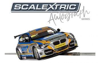 BTCC BMW 125 Series 1 Rob Collard- Limited Edition SCALEXTRIC C3862AE - Autograph Series
