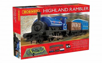 Modelová železnice analogová HORNBY R1220 - The Highland Rambler Train Set