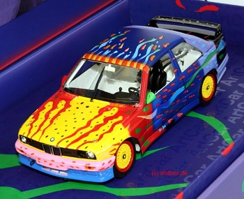 ART CAR BMW M3 E30