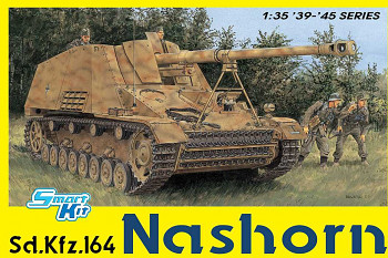 Model Kit tank 6459 - Sd.Kfz.164 Nashorn (4 in 1) (SMART KIT) (1:35)