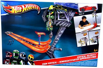 Hot Wheels Team Hot Wheels Vertical Velocity Track Set