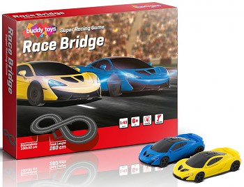 Autodráha Buddy Toys Race Bridge
