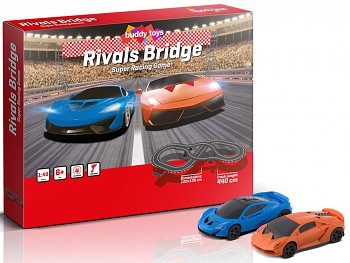Autodráha Buddy Toys Rivals Bridge