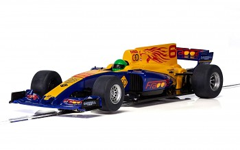 Formula One Car - Blue - 2017 - Autíčko Super Resistant SCALEXTRIC C3960