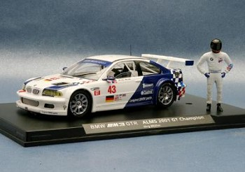 BMW M3 GTR Champion AMLS 2001 Oficial team N°43