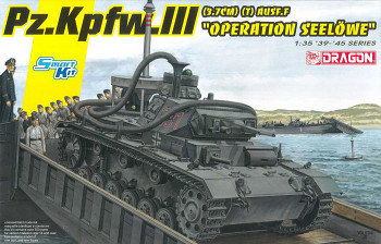 "Model Kit tank 6877 - Pz.Kpfw.III (3.7cm) (T) Ausf.F ""OPERATION SEELÖWE"" (1:35)"