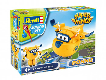 Junior Kit letadlo 00871 - Super Wings Donnie (1:20)