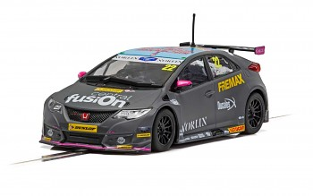 Honda Civic Type R - BTCC 2018 - Chris Smiley - Autíčko SCALEXTRIC C4015