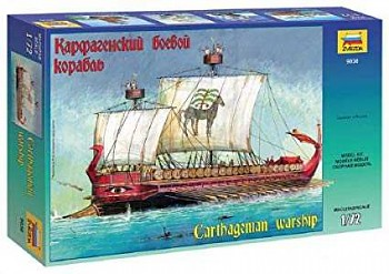 Model Kit loď 9030 - Carthagenian Warship (1:72)