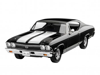 ModelSet auto 67662 - 1968 Chevy Chevelle (1:25)