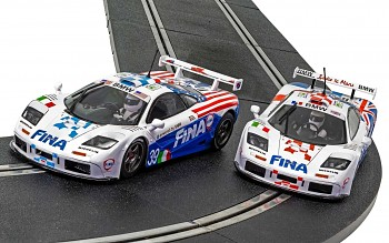 McLaren F1 GTR - LeMans 1996 Twin Pack - Autíčka Limited Edition SCALEXTRIC C4012A