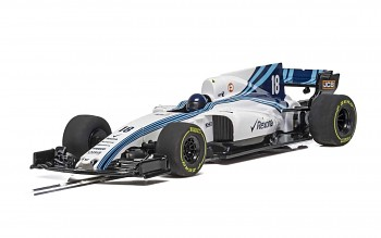 Williams FW41 F1 2018 - Autíčko Super Resistant SCALEXTRIC C4021