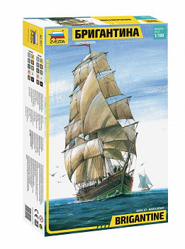Model Kit loď 9011 - English Brigantine (RR) (1:100)