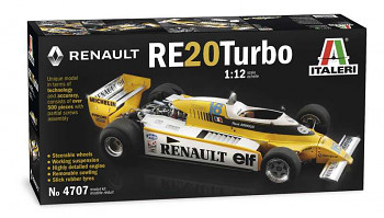 Model Kit auto 4707 - RENAULT RE 20 Turbo (1:12)