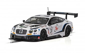 Bentley Continental GT3 - Team Parker Racing - Brands Hatch 2018 - Autíčko SCALEXTRIC C4024