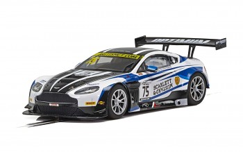 Aston Martin GT3 - British GT 2018 - Flick Haigh, Johnny Adam - Autíčko SCALEXTRIC C4027