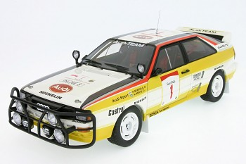AUDI QUATTRO 2.0 SAFARI Rally - No 8