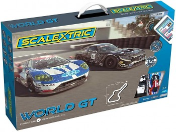 Autodráha SCALEXTRIC C1403M - World GT