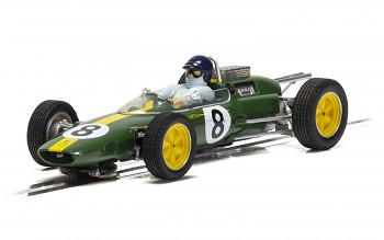 Lotus 25, Jim Clark Monza 1963 First World Championship - Autíčko Limited Edition SCALEXTRIC C4068A