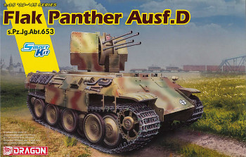 Model Kit tank 6899 - FLAK PANTHER Ausf.D s.Pz.Jg.Abt.653 (1:35)