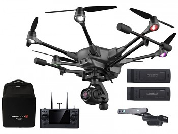 Yuneec Typhoon H Plus s Intel RealSense, batoh