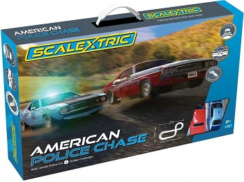 Autodráha SCALEXTRIC C1405 - American Police Chace