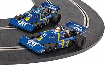 Tyrrell P34 - Swedish GP 1976 Twin Pack  - Autíčko Limited Edition SCALEXTRIC C4084A
