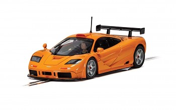 McLaren F1 GTR - Papaya Orange - Autíčko Street SCALEXTRIC C4102