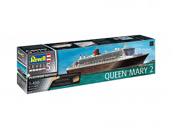 Plastic ModelKit loď Limited Edition 05199 - Queen Mary 2 (Platinum Edition) (1:400)