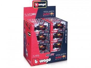 Bburago Red Bull Racing RB14 1:43 (sada 24ks)