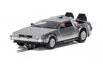 DeLorean - 'Back to the Future' - Autíčko Film & TV SCALEXTRIC C4117