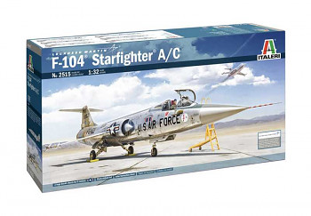 Model Kit letadlo 2515 - F-104 A/C Starfighter (1:32)