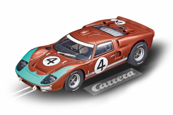 "Auto Carrera D124 - 23896 Ford GT40 MkII ""No.4"""