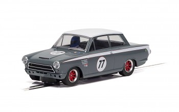 Ford Lotus Cortina - JRT - Howard Donald/Andrew Jordan No.77 - Autíčko Touring SCALEXTRIC C4177