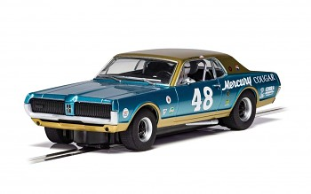 Mercury Cougar - No. 48 - Autíčko Touring SCALEXTRIC C4160
