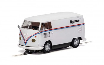 VW Panel Van T1b - Brumos Racing - Autíčko Touring SCALEXTRIC C4086